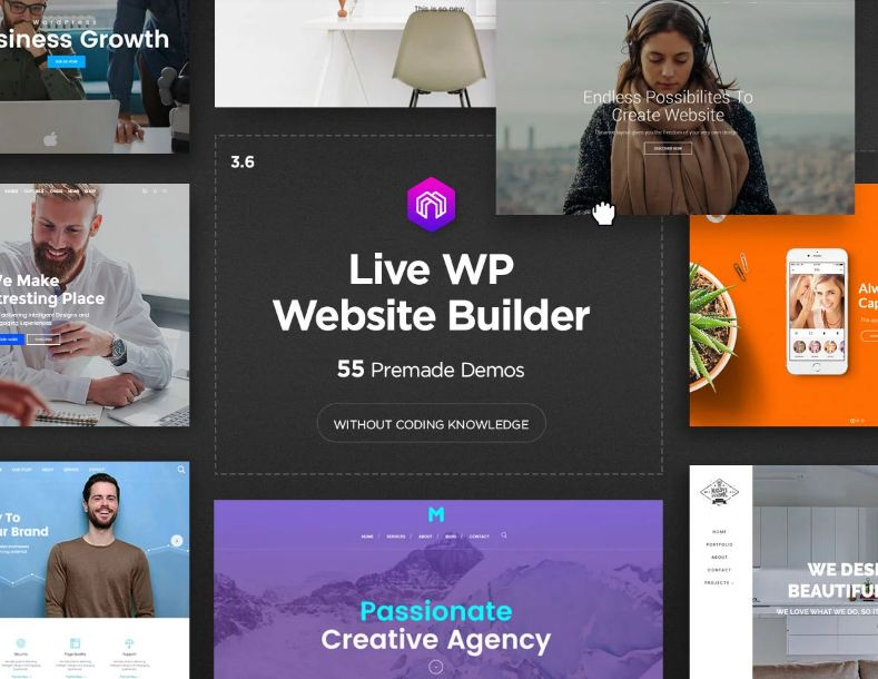 Mẫu website doanh nghiệp Massive Dynamic