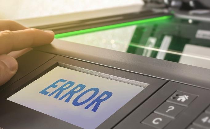 Cách nhẫn biết máy photocopy bị lỗi ổ cứng